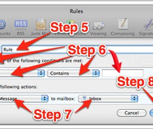Whitelisting-in-Mac-Mail-Steps-5-to-8